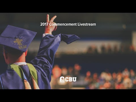 CBU Commencement. Friday Dec 15, 2:00PM start.
