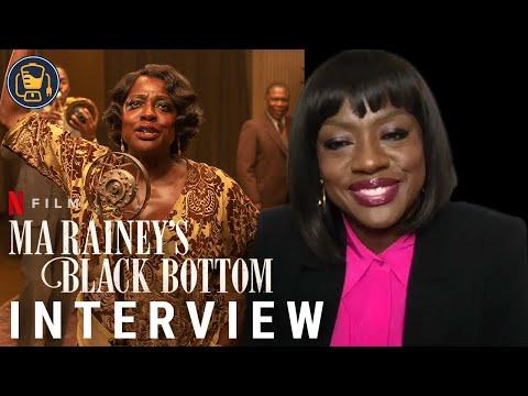 'Ma Rainey's Black Bottom' Interviews with Viola Davis, Glynn Turman, Colman Domingo & More