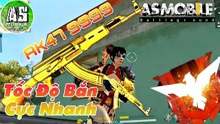 [Garena Free Fire] Test AK Vàng 9999 Bắn Nhanh Hơn Scar | AS Mobile