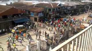 BIAFRAN PROTEST IN ABA....