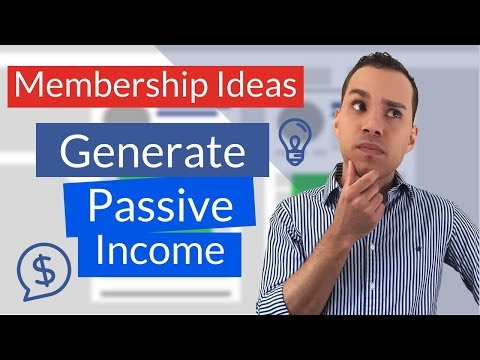 Top 6 Membership Site Ideas For Generating Residual Income Online
