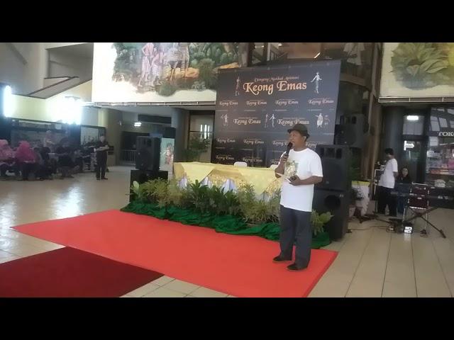 pre Opening Pak Tedy  Gala Premier Dongeng Animasi Musical Keongemas TMII