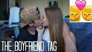 THE BOYFRIEND TAG: MEET BLAKE | ALLY HARDESTY