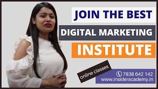 Best Digital Marketing Institute In Noida | Insider Academy