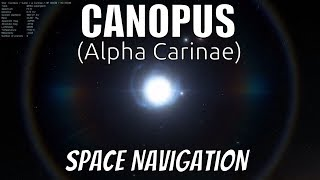 Canopus The Most Important Star In Space Navigation