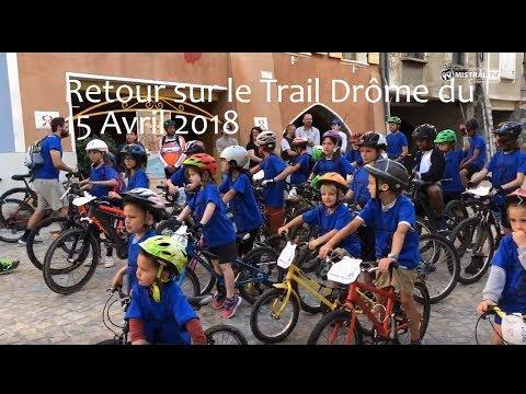 Jean Pierre BUIX a animé le Trail Drôme à Buix les Baronnies