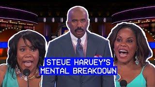 Steve Harvey Has Mental Breakdown During Family Feud
