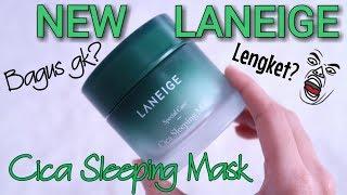 Sleeping Mask TERBARU dari LANEIGE - LANEIGE CICA SLEEPING MASK REVIEW - Novie Marru