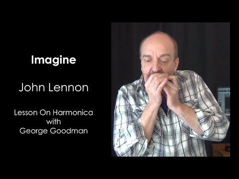 Harmonica harmonica tabs imagine : Imagine Lesson on Harmonica - YouTube