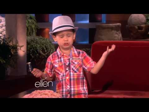 Kai from Ellen sings Big Sean - I Don't Fuck With U (NSFW)