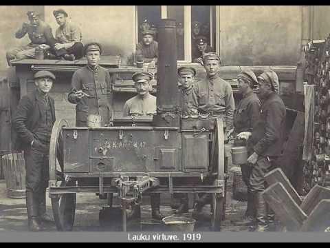 Latviešu strēlnieki (Latvian riflemen)