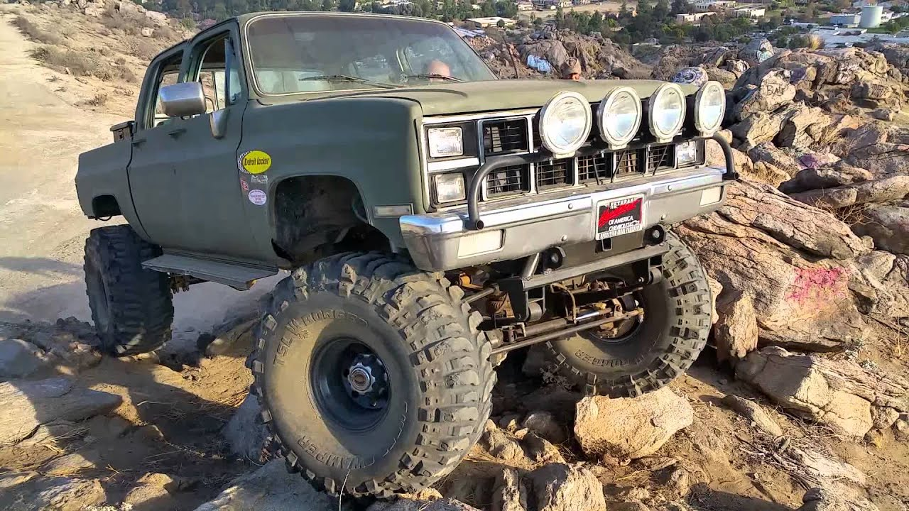 Suburban Rock Crawler : Crew cab rock crawling youtube