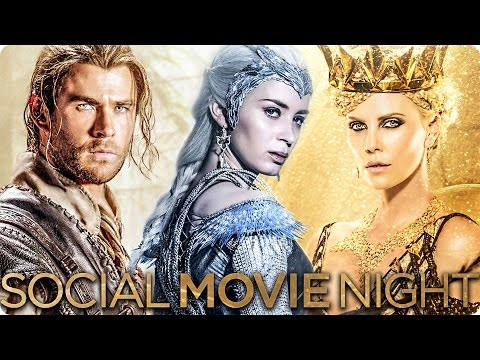 THE HUNTSMAN & THE ICE QUEEN Hamburg Social Movie Night mit Stars - 1000 Tickets