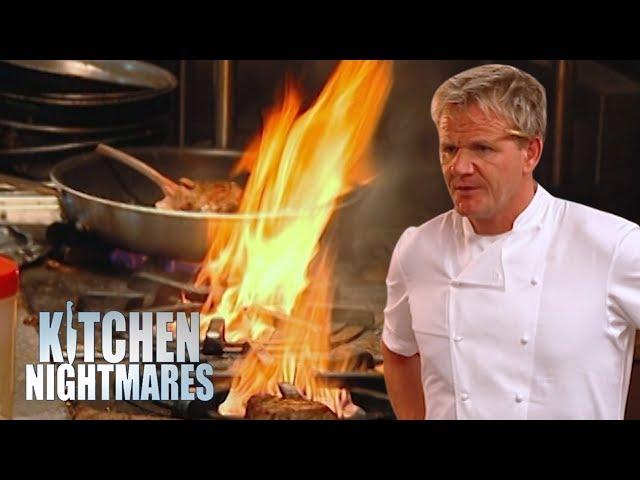 Gordon Helps a Danish Restaurant That DOESN'T SERVE DANISH FOOD!   Kitchen Nightmares Supercut