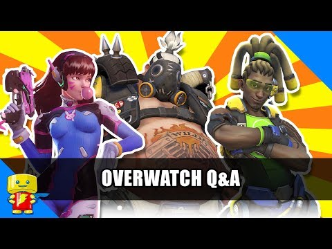 Overwatch Q&A with D.Va, Roadhog, and Lucio
