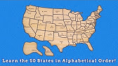 Learn the 50 states with Ms. Alexander - YouTube on