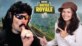 DrDisRespect Plays Duos with a GIRL in Fortnite (7/17/18) (1080p60)