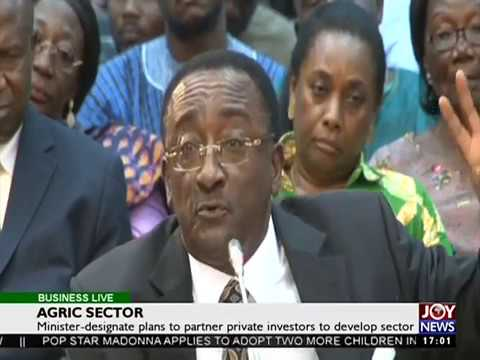 Agric Sector - Business Live on Joy News (25-1-17)