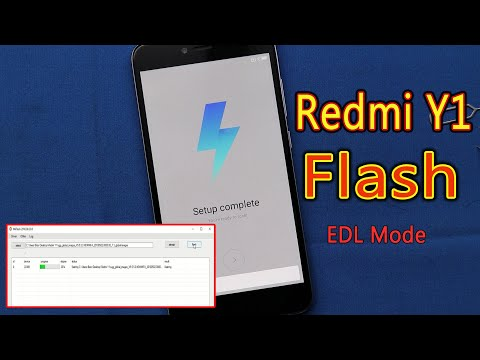 Flashing Xiaomi Redmi Y1. How to enter EDL mode?