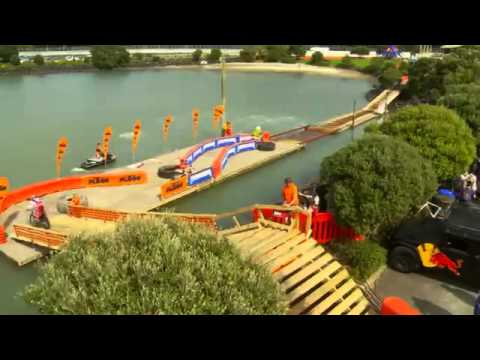 Enduro -  Calles de  Nueva Zelanda en el Red Bull  City Scramble