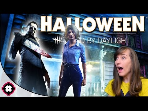 NEW Halloween DLC! ►Dead by Daylight◄ Michael Myers, Laurie Strode, & Haddonfield