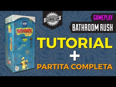 Bathroom Rush - Tutorial + Partita completa!