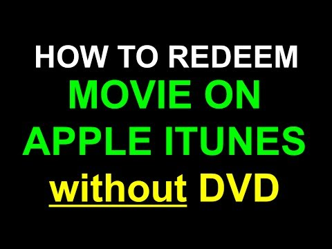 Redeem Apple iTunes XML code without DVD
