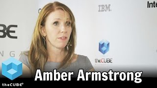 Amber Armstrong - IBM InterConnect 2015 - theCUBE