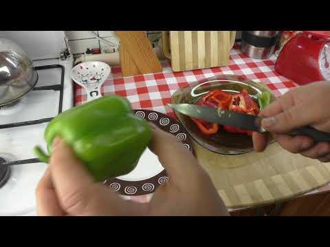 Как очистить перец от семян за 7 секунд ?
