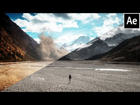 After Effects Epic Cinematic Landscape Tutorial