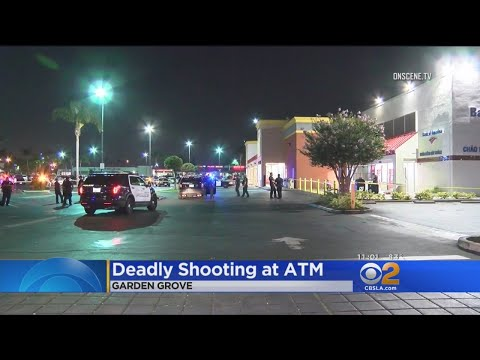 2 Suspects At Large In Garden Grove ATM Killing