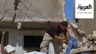 هرب من جحيم سوريا ليفقد أسرته بانفجار لبنان