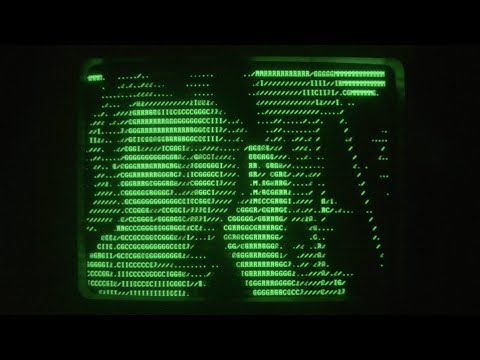 ASCII Video Filter Test v02 (Star Wars IV Ending) - YouTube
