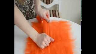 Базовая раскладка шерсти при валянии. Мастер-класс