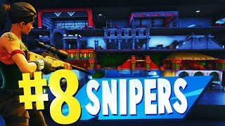 TOP 8 BEST SNIPERS VS RUNNERS Creative Maps In Fortnite | Fortnite Sniper Map CODES