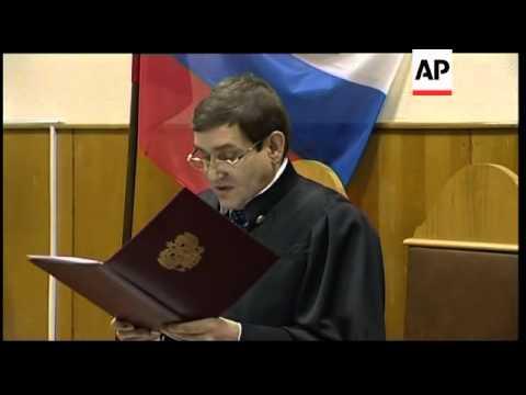 Russia - Oil tycoon, Mikhail Khodorkovsky, sentenced to 14 years