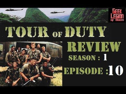 TOUR OF DUTY : SO1E10 'NOWHERE TO RUN'  Tony Becker  TV Episode