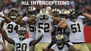 "New Orleans Saints || All Interceptions || 2017 Highlights ""Forever"""