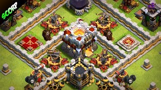 TH11 Trophy Base| Best Town Hall 11 Defense Base 2018| Legend League| Anti 3 Star - Clash Of Clan