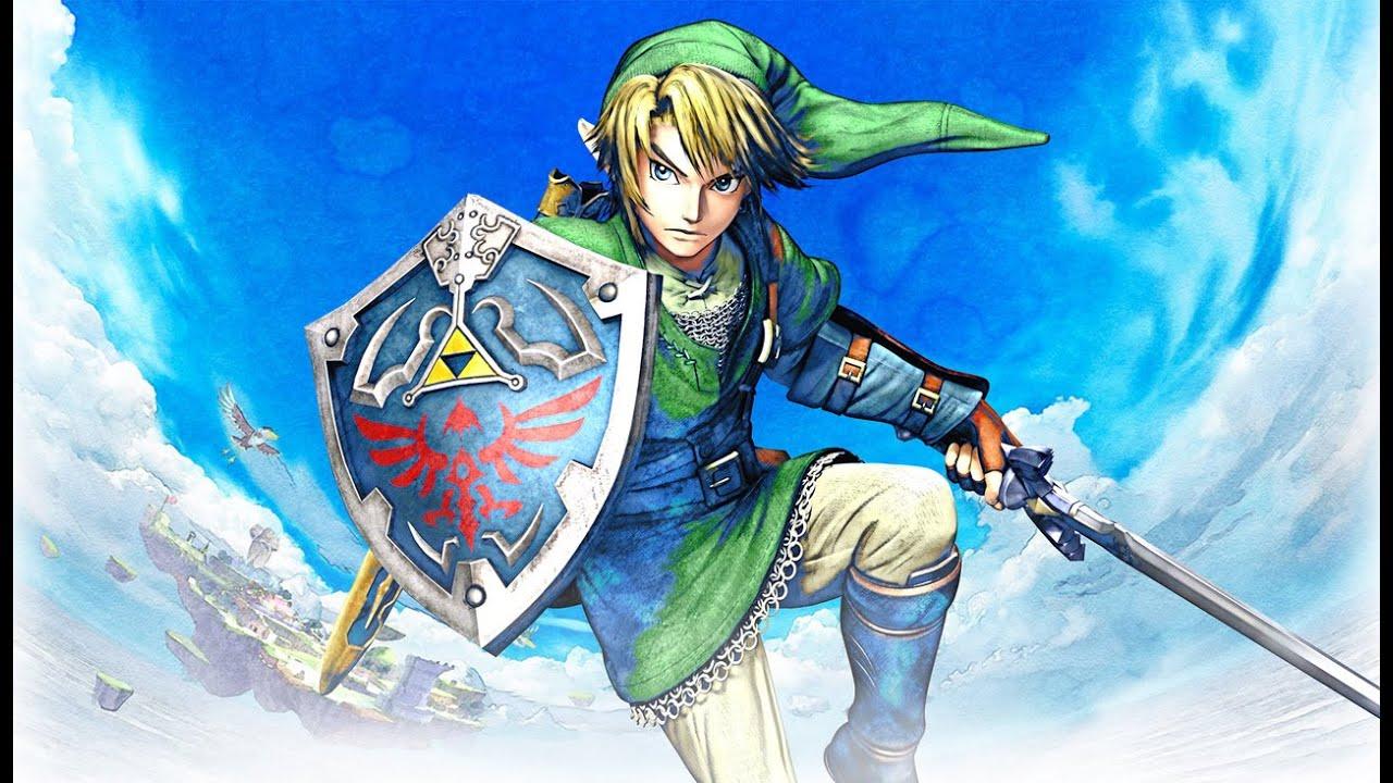 Legend Of Zelda Breath Of The Wild Wallpaper Hd Legend Of Zelda Skyward Sword Link Figure Unboxing