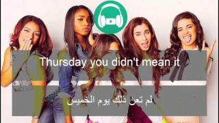 Who Are You - Fifth Harmony - مترجمة عربى