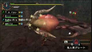 【紫電】MHP2NDG JUMP 爆炎の帝 TA vs黒ねこ猟団 thumbnail