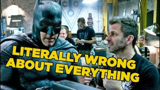 Why Zack Snyder Is Wrong About Batman