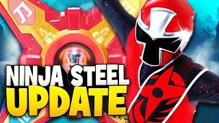 Power Rangers Ninja Steel TRAILER Release Update + Toy Line Officially Released In Stores