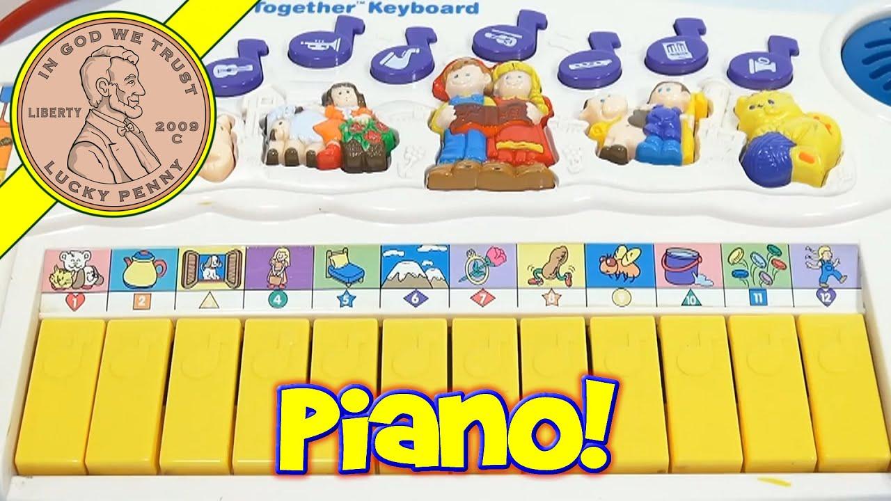vtech little smart sing together keyboard toy youtube. Black Bedroom Furniture Sets. Home Design Ideas