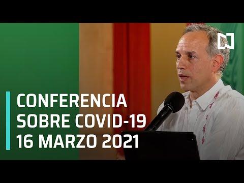 Informe Dario Covid-19 en México - 16 marzo 2021