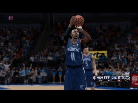 NBA Playoffs Game 2 Memphis Grizzlies VS Oklahoma City Thunder 2014-04-21