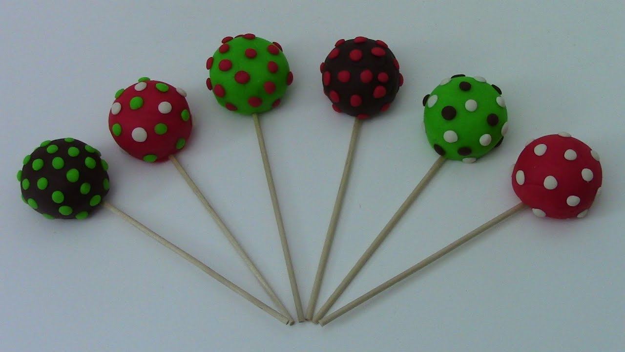 Youtube How To Make Christmas Cake Pops