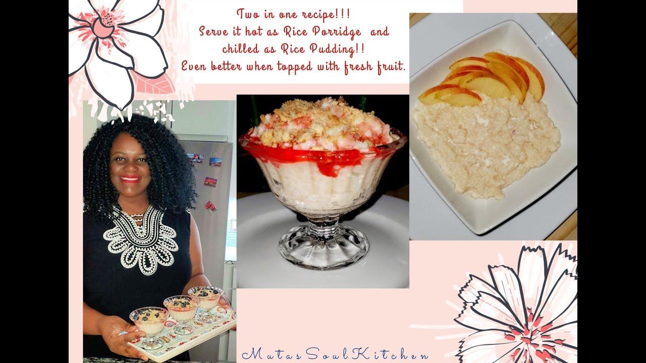 Rice Pudding | Creamy Rice Pudding Recipe | Evaporated ...