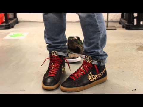 "100% authentic baf6a eb025 Nike Blazer Mid Premium Vintage QS - Cheetah ""Safari Collection"" On ..."
